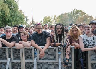 This squad held down the front row the entire evening at Twilight. Photo: JoSavagePhotography.com