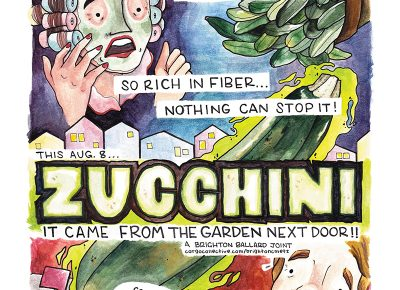 Happy Sneak Some Zucchini on Your Neighbor's Porch Day!