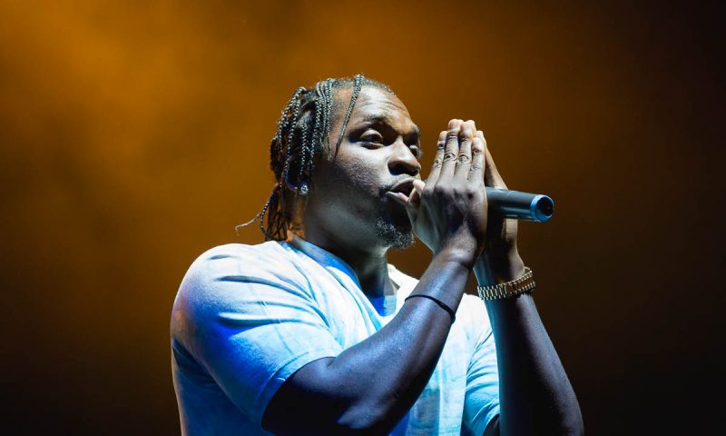 Rap artist Pusha T, musical guest for Twilight Concert Series. Photo: Logan Sorenson / @Lmsorenson
