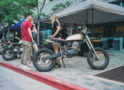 The Salty Bike Revival preview area was a new addition to this year's event. Photo: @clancycoop