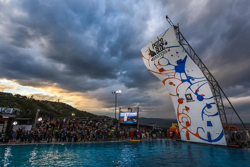 Climb Into Liquid: Psicobloc Masters 2016 @ Utah Olympic Park