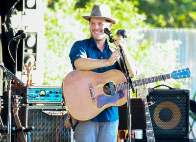 Gregory Alan Isakov and his band opened for Lake Street Dive at Red Butte Garden on Aug. 14, 2016. Photo: John Barkiple