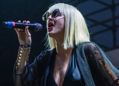 Sarah Barthel of Big Grams serenades the crowd with her melodic voice. Photo: Colton Marsala