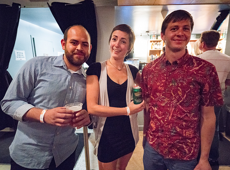 David Brito, Haley Munger and Ben Robson were excited for the show. Photo: JoSavagePhotography.com