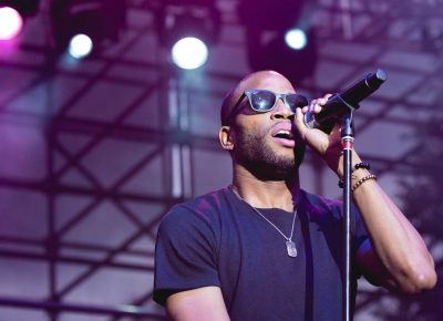 "Troy ""Trombone Shorty"" Andrews drops the instruments and provides vocals for his set at the Twilight Concert Series. Photo: @Lmsorenson"