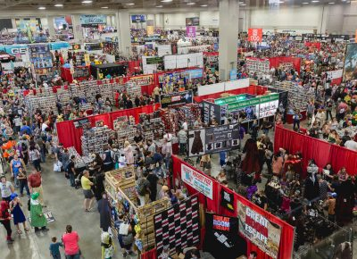 Salt Lake Comic Con artists, shops, food stops and a photo op area. Photo: @Lmsorenson