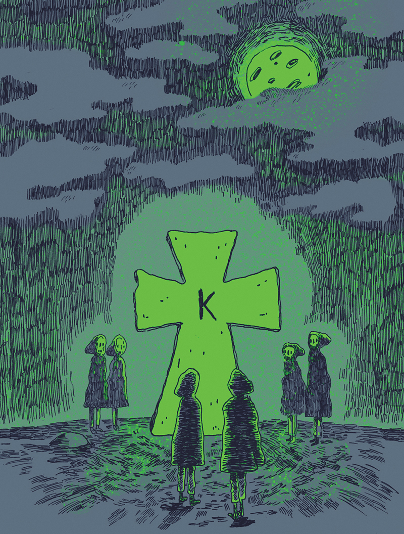 From its fraught animal-sacrifice beginnings to an inexplicable explosion, the decades-old, chilling legend of Kay's Cross forges on.
