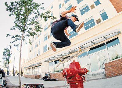 Clark Thomas, 360 flip.