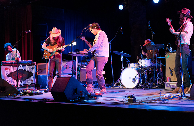 Blank Range, out of Nashville, started with some country psychedelic rock tunes. Photo: JoSavagePhotography.com