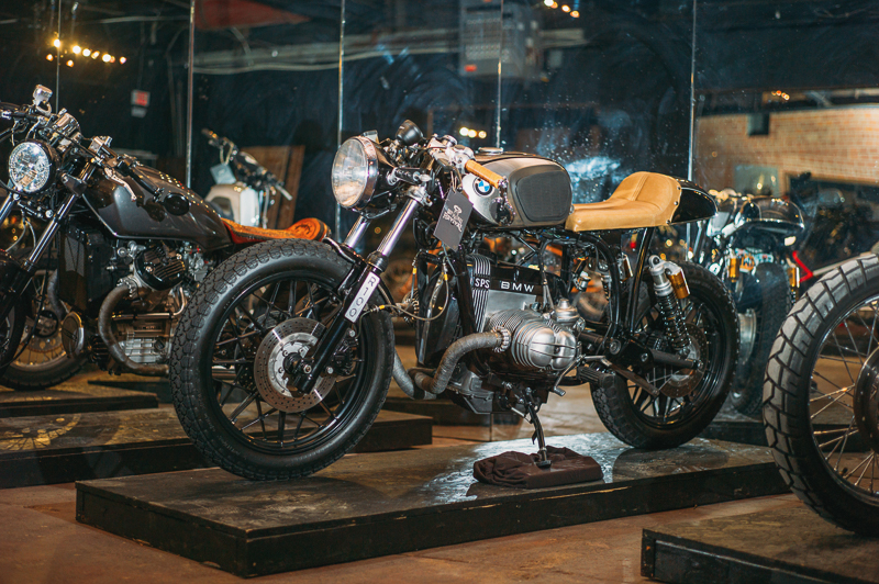 A beautiful BMW cafe racer. Photo: @clancycoop