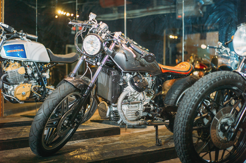 A 1982 Honda GL500 built by Suicide Lane Cycles. Photo: @clancycoop