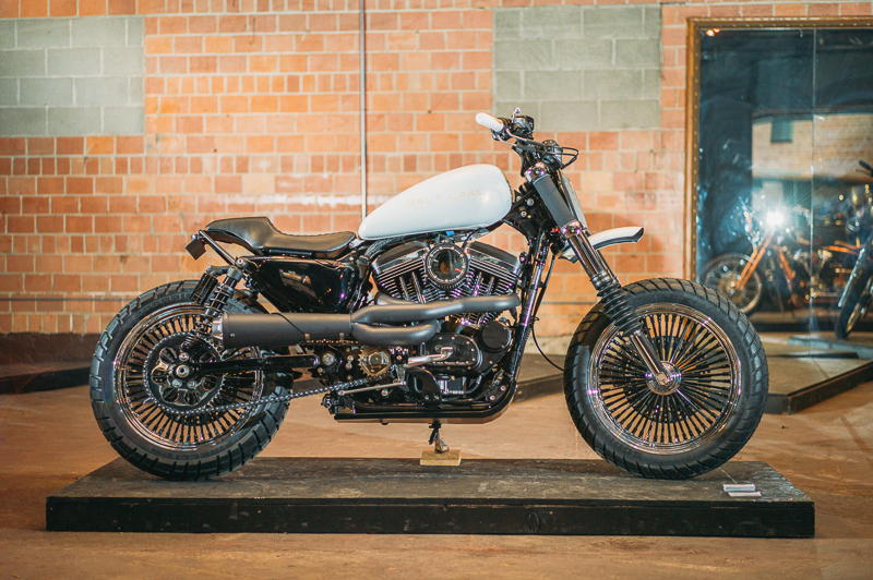 A beautiful custom build by Salt Lake Motorcycle Co. Photo: @clancycoop