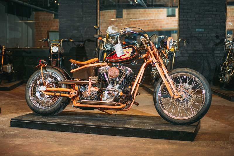 There were all shapes and sizes of motorcycles in the show. Photo: @clancycoop