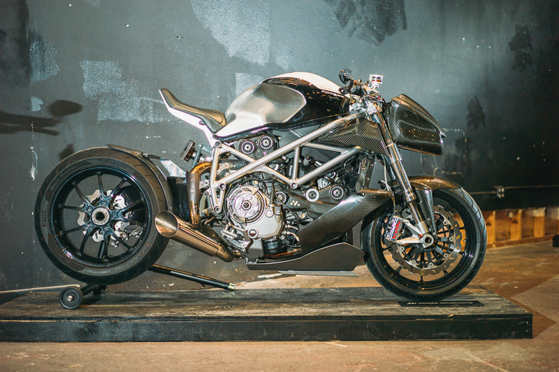 A stunning custom Ducati by Apogee Motorworks. Photo: @clancycoop