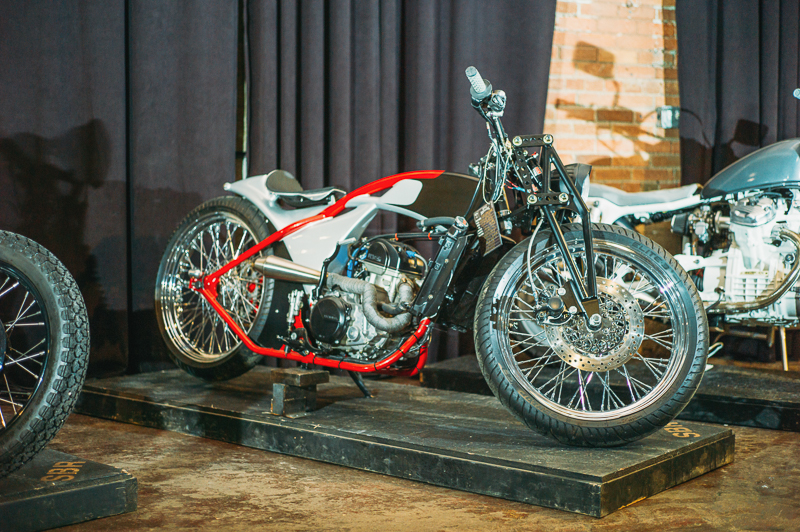 This bike built by Don Cash won the individual class in the builder contest. Photo: @clancycoop