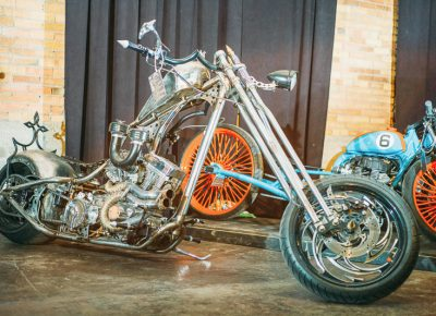 There were bikes of all shapes and sizes featured in the show. Photo: @clancycoop