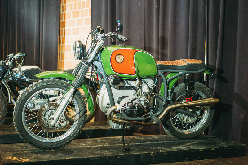 A 1978 BMW R80/7 built by Salt City Builds. Photo: @clancycoop