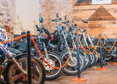 Bikes from Intermountain Harley-Davidson were lined up and sitting pretty. Photo: @clancycoop