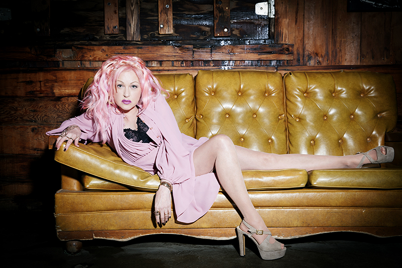 Cyndi Lauper: Fearless, Reckless Friend @ The Depot 09.20 with Charlie Musselwhite