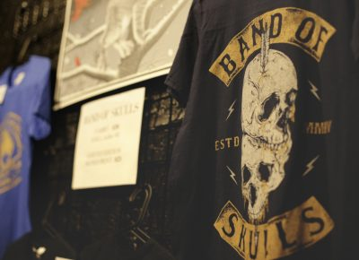 Band of Skull tour T-Shirt for sale. Photo: Logan Sorenson @Lmsorenson