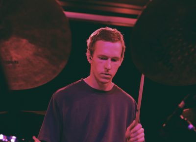 Drummer Matthew Anderegg of Mothers. Photo: Logan Sorenson @Lmsorenson