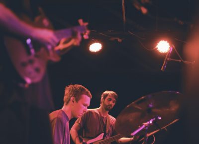 Mothers play their experimental take on folky indie rock. Photo: Logan Sorenson @Lmsorenson