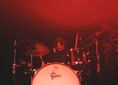 Drummer Matt Hayward of Band of Skulls. Photo: Logan Sorenson @Lmsorenson