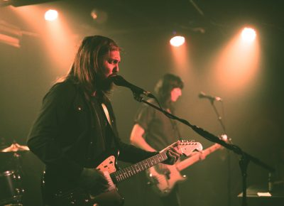Band of Skulls front Russell Marsden and Emma Richardson. Photo: Logan Sorenson @Lmsorenson