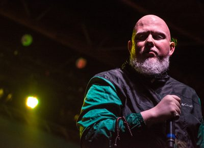 Brother Ali, with an intense stare down, gives SLC a night to remember. Photo: ColtonMarsalaPhotography.com