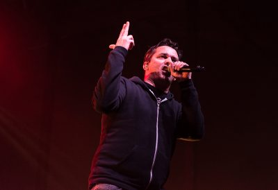 """Slug of Atmosphere starts the night off with new song """"Like a Fire"""" off their newest album. Photo: ColtonMarsalaPhotography.com"""