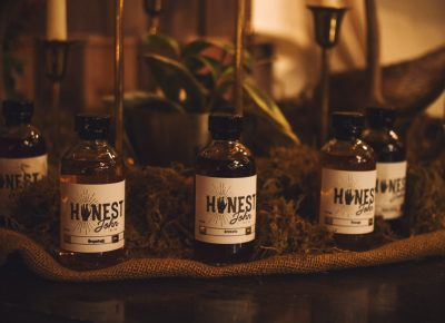 Honest John Bitters Co. has bottles that look like they should be sitting in an apothecary of some sort. Photo: Talyn Sherer