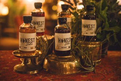The display for Honest John Bitters really made you feel as though you were stepping back in time to the days of snake-oil salesmen peddling their wares. Photo: Talyn Sherer