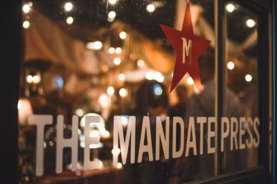 Saturday's launch event was hosted by The Mandate Press, who also helped in the label creation for Honest John Bitters. Photo: Talyn Sherer