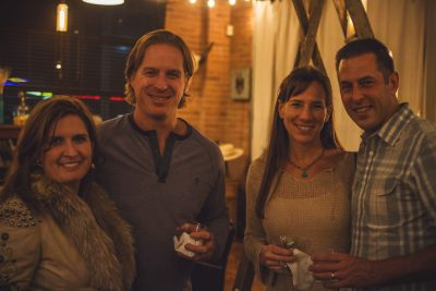(L–R) Lisa Archer, Corbin Archer, Shirelle Erb and Chad Pieczonka were thrilled to be a part of so groundbreaking an event as this. Photo: Talyn Sherer