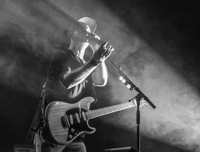 """Josh Carter adds vocals to """"Turning Into Stone."""" Photo: ColtonMarsalaPhotography.com"""