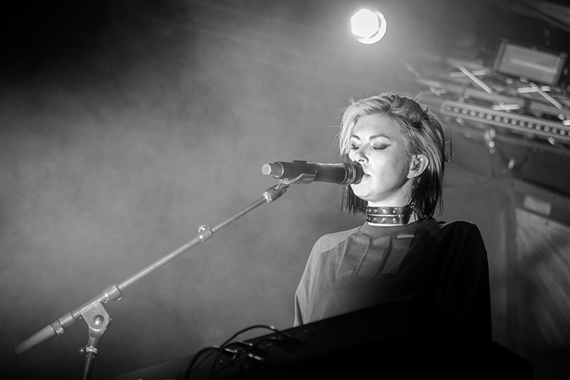 """Sarah Barthel enthralls concertgoers during """"Fall In Love."""" Photo: ColtonMarsalaPhotography.com"""