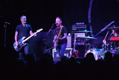 Dave Hause, with guest appearance by Jay Bentley of Bad Religion. Photo: Andy Fitzgerrell