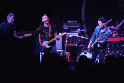 Dave Hause, with support from Jay Bentley. Photo: Andy Fitzgerrell