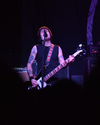 Inge Johansson of Against Me! Photo: Andy Fitzgerrell
