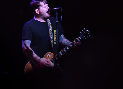James Bowman of Against Me! Photo: Andy Fitzgerrell
