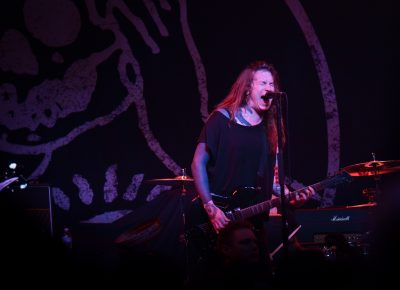 Laura Jane Grace of Against Me! Photo: Andy Fitzgerrell