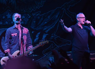 Jay Bentley and Greg Graffin of Bad Religion. Photo: Andy Fitzgerrell