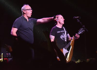 Greg Graffin and Brian Baker of Bad Religion. Photo: Andy Fitzgerrell