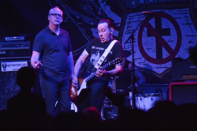 GregGraffin and Brian Baker of Bad Religion. Photo: Andy Fitzgerrell