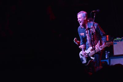Jay Bentley of Bad Religion. Photo: Andy Fitzgerrell