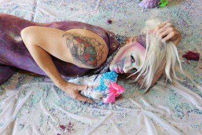 Eden Flesh embodied a sense of femininity that Higley felt had been lacking in his life. Photo: ThatGuyGil