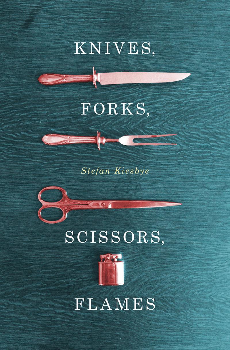Knives, Forks, Scissors, Flames by Stefan Kiesbye.