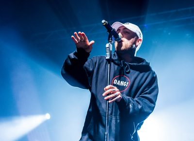 """Mac Miller's soulful style is on full display as he raps his oldie, """"Best Day Ever."""" Photo: ColtonMarsalaPhotography.com"""