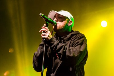 """Emanating passion, Mac Miller raps to """"Dang!"""" Photo: ColtonMarsalaPhotography.com"""