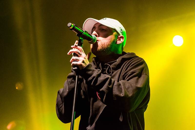 "Emanating passion, Mac Miller raps to ""Dang!"" Photo: ColtonMarsalaPhotography.com"